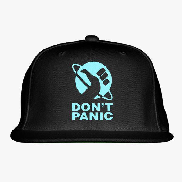 c54b08b3d Don't Panic Snapback Hat (Embroidered) | Hatsline.com