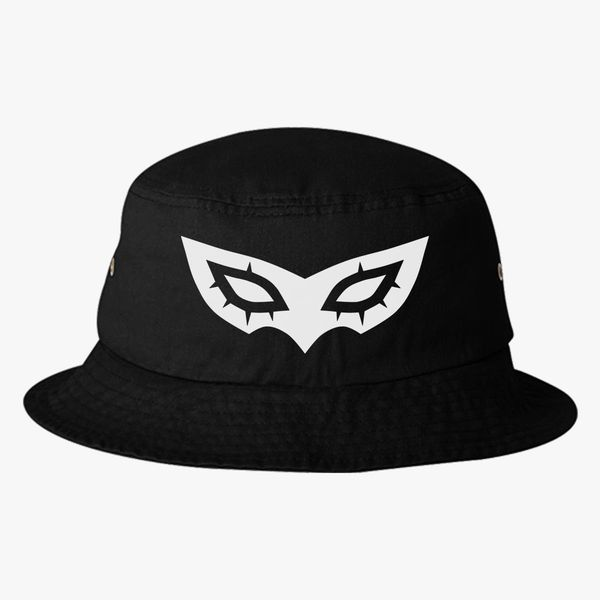 fe4a3e6dad835f Persona 5 Mask Bucket Hat (Embroidered) | Hatsline.com
