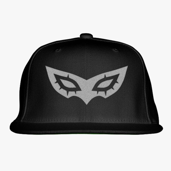 Persona 5 Mask Snapback Hat - Embroidery +more 2523b4c34c4