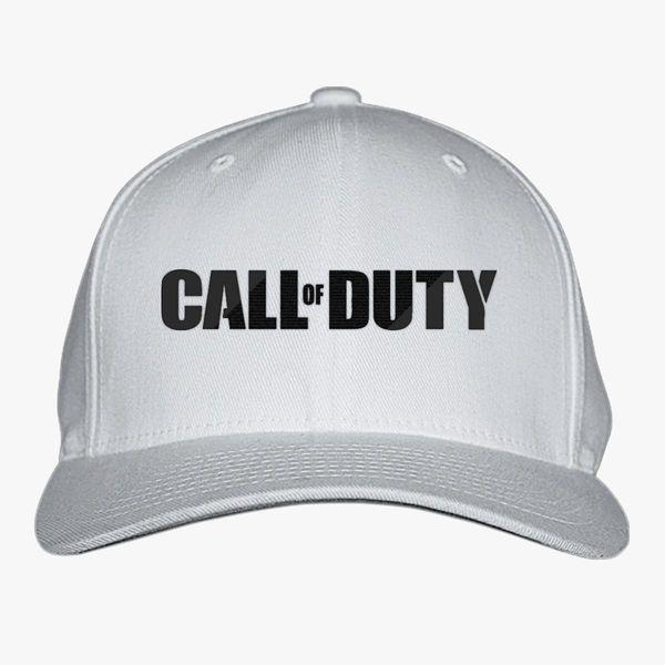 Call of Duty Black Baseball Cap (Embroidered)  e0682c617fd3