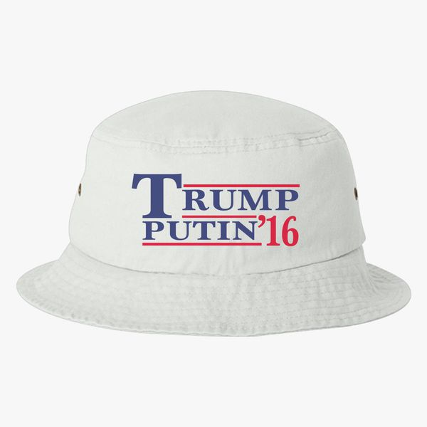 4df54c4b768 Trump Putin Bucket Hat - Embroidery +more