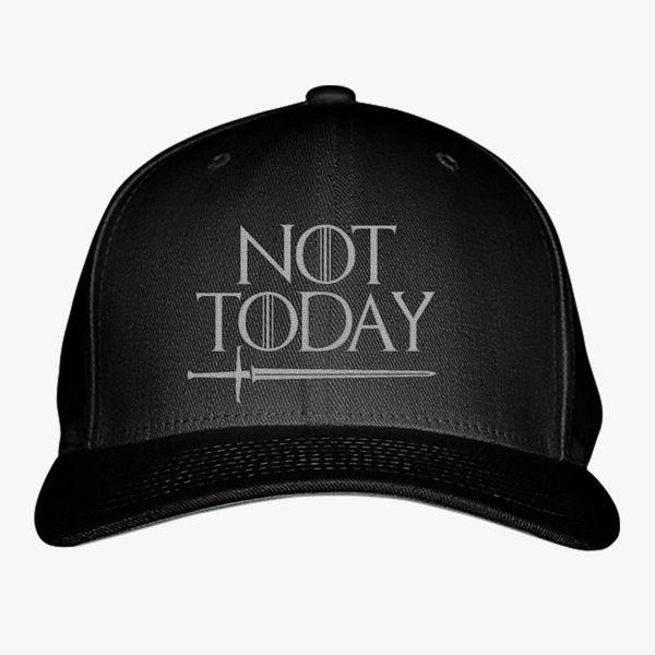 GAME OF THRONES cap LANISTER GOT hat NOT TODAY Arya Stark baseball cap