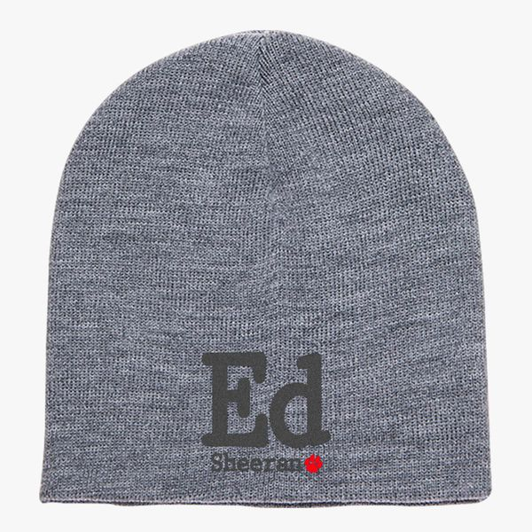 Ed Sheeran Knit Beanie (Embroidered)  0924d648e9f