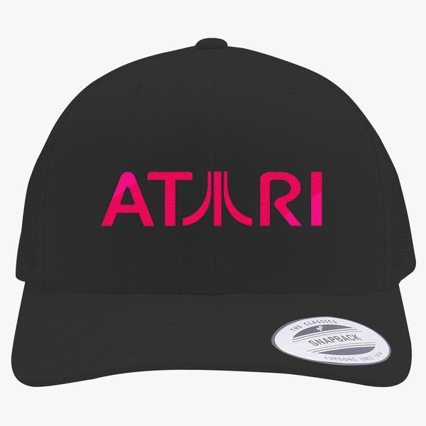 buy popular 46862 bc0ad Atari Retro Trucker Hat - Embroidery +more