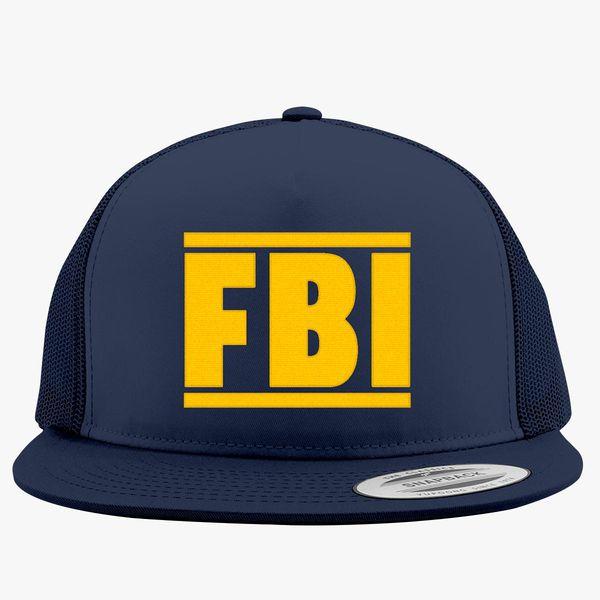 FBI Tee Trucker Hat - Embroidery +more 6b7a9b35db4