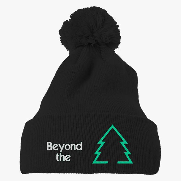 ef893f0fbc785 Beyond The Sugar Pine 7 Knit Pom Cap - Embroidery +more