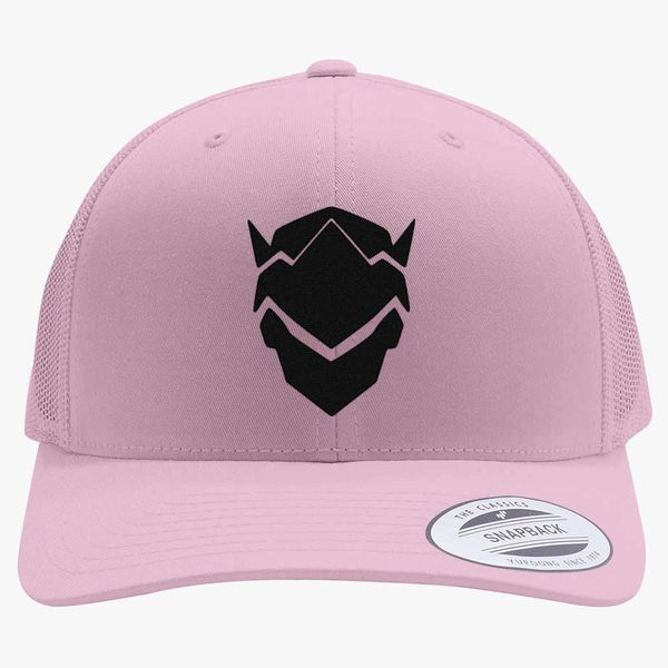 Genji Overwatch Retro Trucker Hat - Embroidery +more c0396594f663