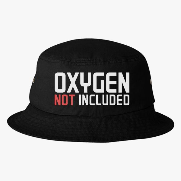8aadeb7c8 oxygen not included Bucket Hat (Embroidered)   Hatsline.com