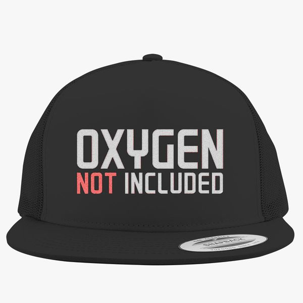 e482e6ddc oxygen not included Trucker Hat (Embroidered)   Hatsline.com