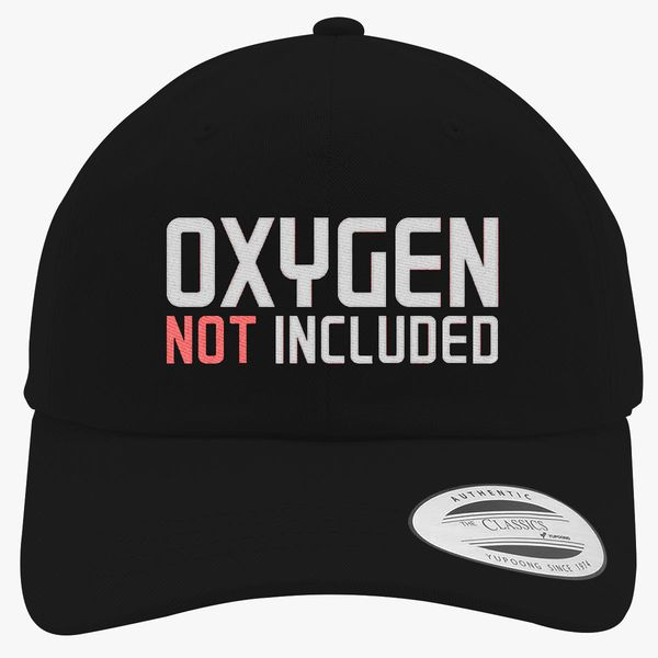 293e6b292 oxygen not included Cotton Twill Hat (Embroidered)   Hatsline.com