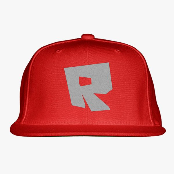 26d85ed457994 Roblox Logo Snapback Hat - Embroidery +more