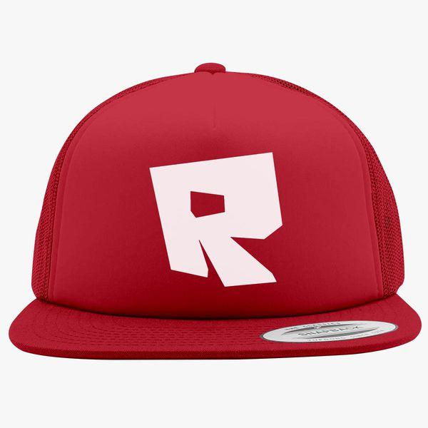 Roblox Logo Foam Trucker Hat Hatslinecom