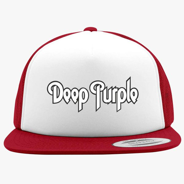 393d0e49e95 Deep Purple Foam Trucker Hat +more