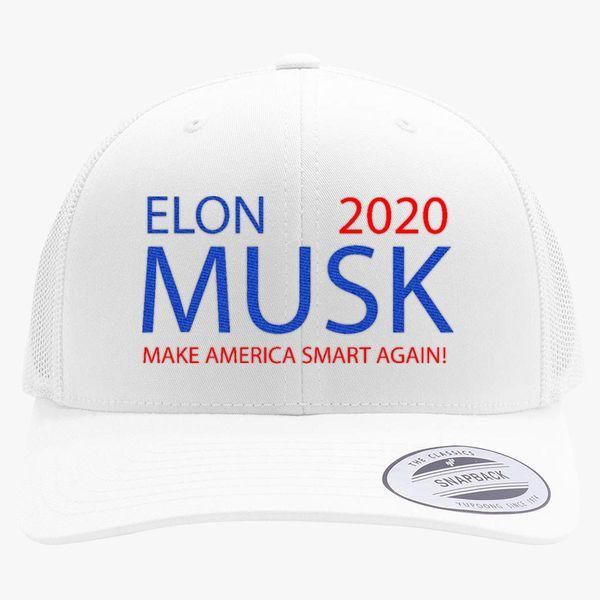 f35799959c2 elon musk 2020 Retro Trucker Hat - Embroidery +more