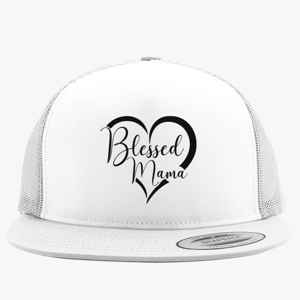 ded2813a521 Blessed Mama Trucker Hat (Embroidered) | Hatsline.com