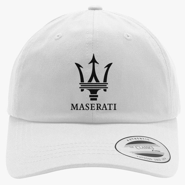Maserati Cotton Twill Hat - Embroidery Change style 8d43377ff883