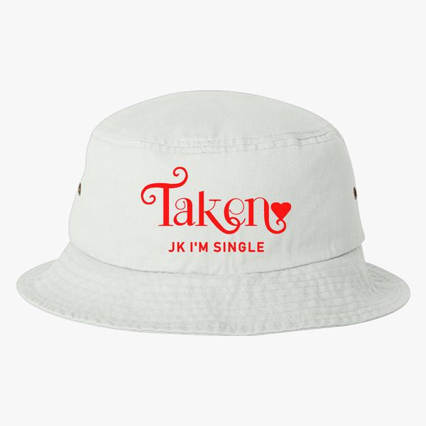 40cf2d81ffef1 Funny Best Friends Valentine Bucket Hat (Embroidered) | Hatsline.com