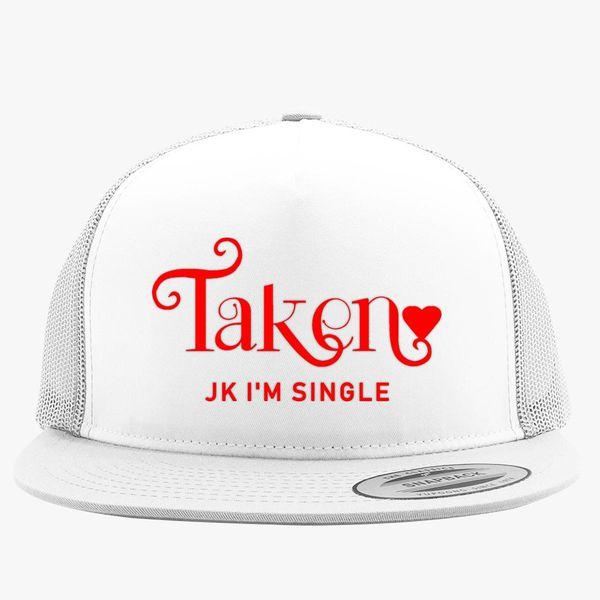 Funny Best Friends Valentine Trucker Hat (Embroidered) | Hatsline com
