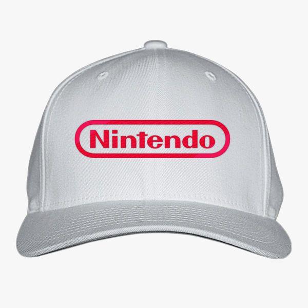 72393dbd7a Nintendo Logo Baseball Cap (Embroidered)