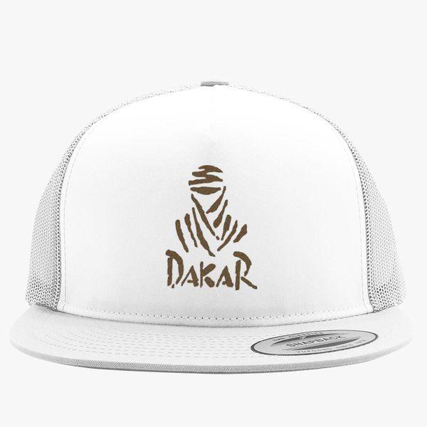 f0a24b7e481a3 Dakar Rally Logo Trucker Hat - Embroidery +more