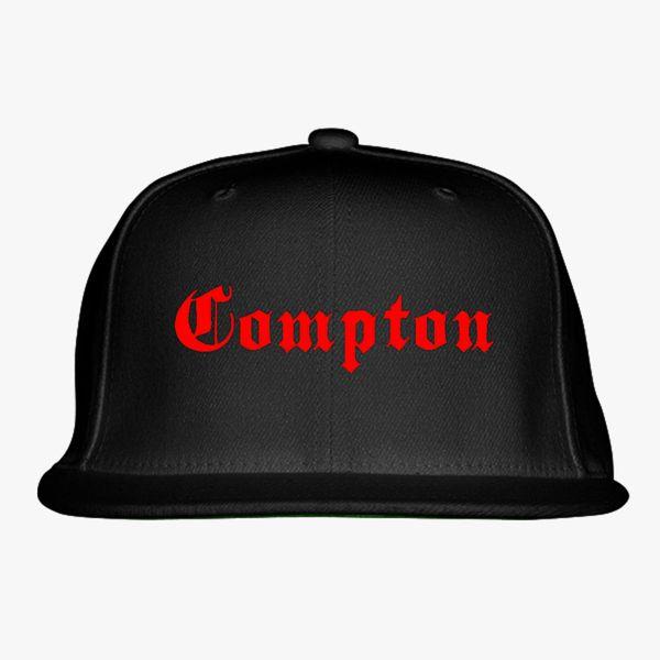 ffd4e8f98ba Compton Snapback Hat - Embroidery +more