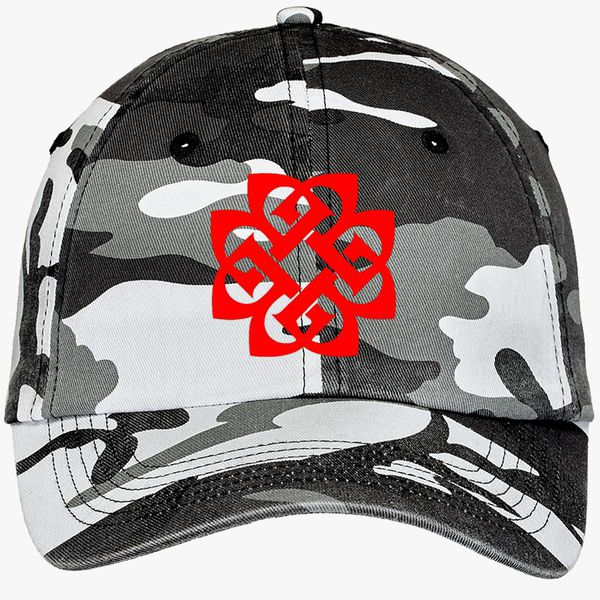 8dc03956b95 Breaking Benjamin Camouflage Cotton Twill Cap - Embroidery +more