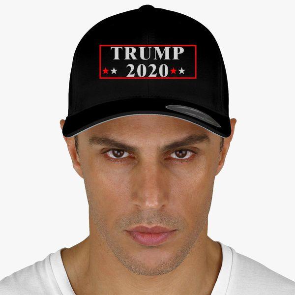 b8978db9fd39e Trump 2020 Baseball Cap - Embroidery +more