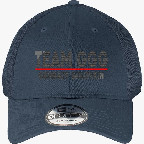 Team GGG Gennady Golovkin New Era Baseball Mesh Cap - Embroidery +more 843bd229aacf