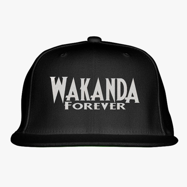 Wakanda Forever Snapback Hat - Embroidery +more 432ca223945