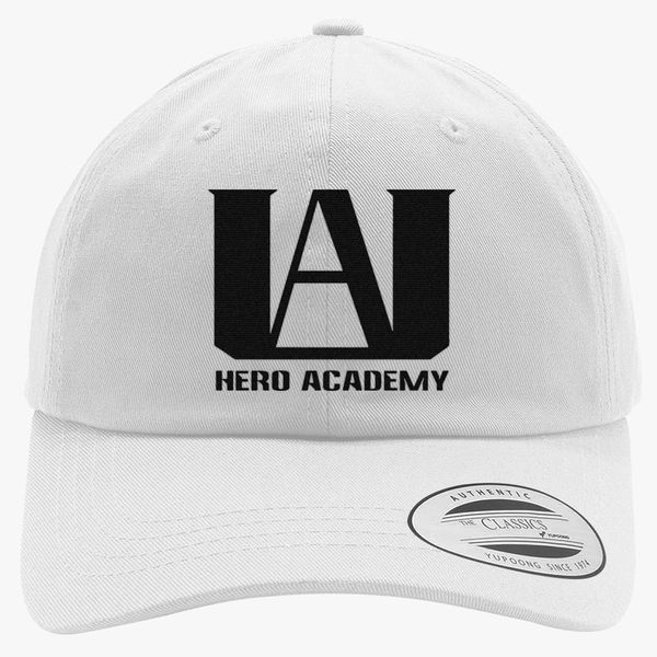 f7d5e062 My Hero Academia logo Cotton Twill Hat (Embroidered) | Hatsline.com