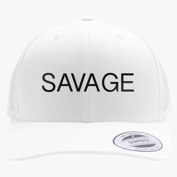 Savage Martinez Twins Retro Trucker Hat - Embroidery +more f9f175274c8b