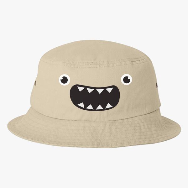 Cute Monster Bucket Hat - Embroidery +more d9fa701dd31