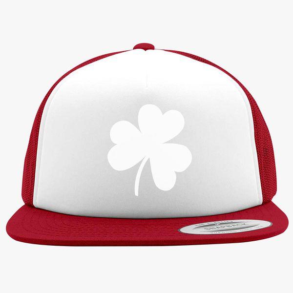 0cf835c6757 Shamrock Irish Day Foam Trucker Hat +more