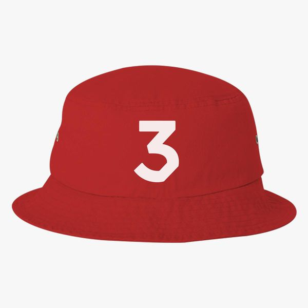 f490335338e Chance The Rapper 3 Bucket Hat - Embroidery +more