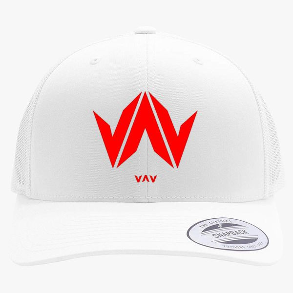 1b413ec1cfb19 vav logo Retro Trucker Hat - Embroidery +more