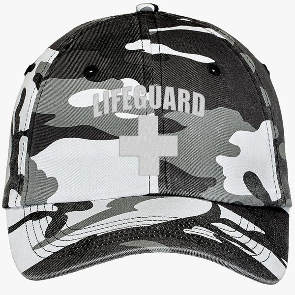 4abf78a4 Lifeguard Camouflage Cotton Twill Cap (Embroidered)   Hatsline.com