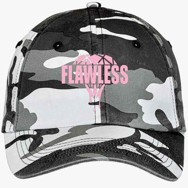03387ad7046 Flawless Diamond Camouflage Cotton Twill Cap - Embroidery +more