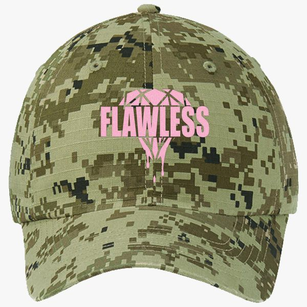 690a2ce5d26 Flawless Diamond Ripstop Camouflage Cotton Twill Cap - Embroidery +more