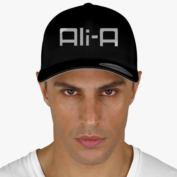 dad2857b413 Ali-a logo Baseball Cap - Embroidery +more