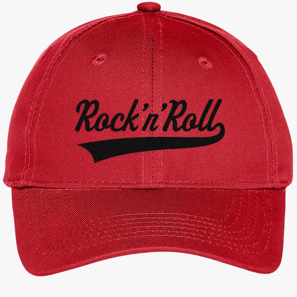 aad7c54cf2cb0 Rock N Roll-Rock And Roll Youth Six-Panel Twill Cap - Embroidery +more