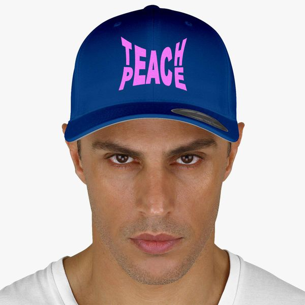 c65737869bbc6 Teach Peace Baseball Cap - Embroidery +more