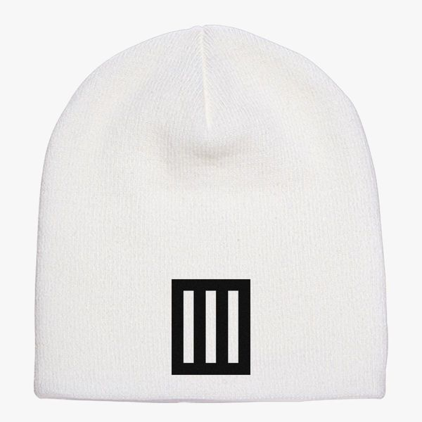 acf790630c3 Paramore logo Knit Beanie - Embroidery ...