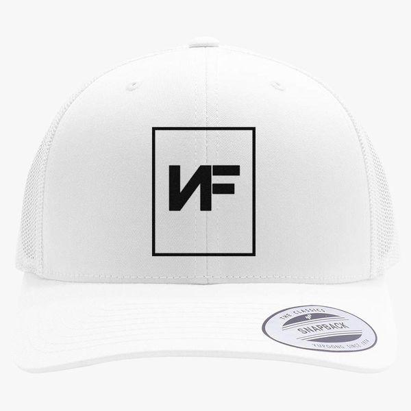 67cb4d3193718 Nf Rapper Retro Trucker Hat - Embroidery +more