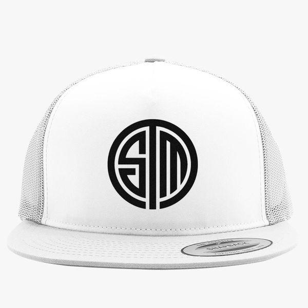 49ffebf219758 tsm team solomid logo Trucker Hat (Embroidered) | Hatsline.com