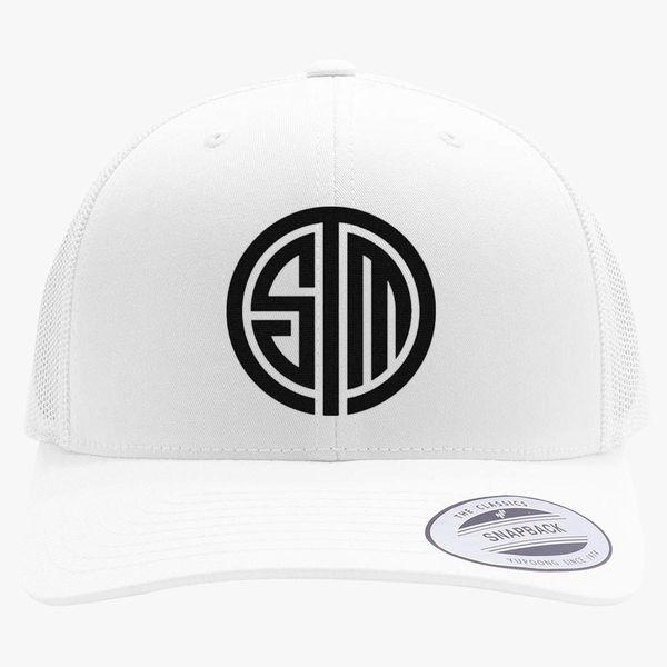 4e382c89b18 tsm team solomid logo Retro Trucker Hat - Embroidery +more