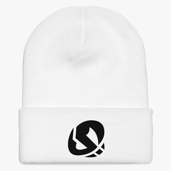 Team skull Knit Cap - Embroidery ... d89be9faca5a