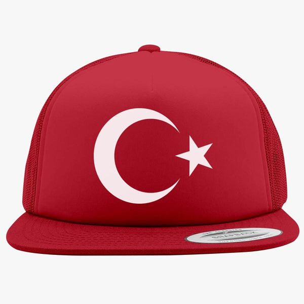 aafce64b34e0a Turkey Flag Tee Foam Trucker Hat +more