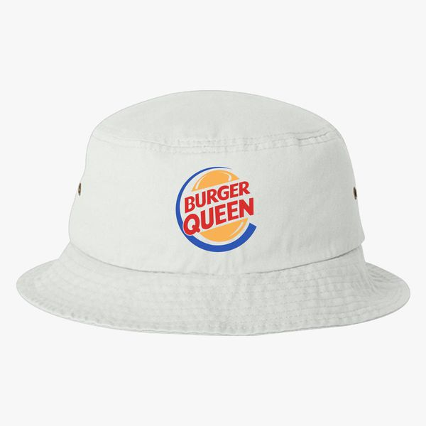 1b7a57e7f8c61 Burger Queen Bucket Hat - Embroidery +more