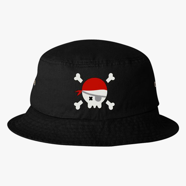 f708d5b7cdf pirate Bucket Hat - Embroidery +more
