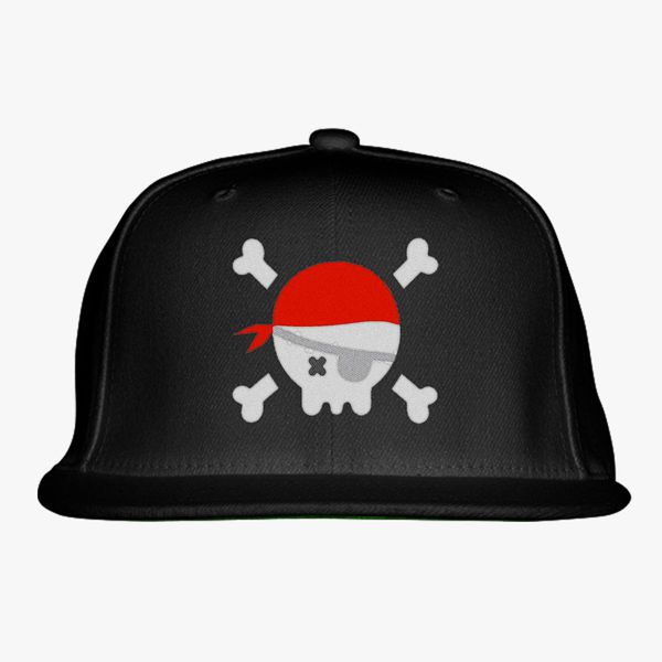 008125e03bb pirate Snapback Hat - Embroidery +more